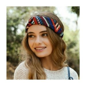 Festival Vintage Corduroy Twist Head Band